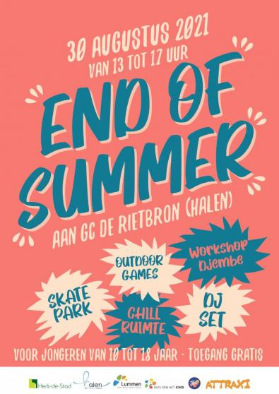 Affiche end of summer