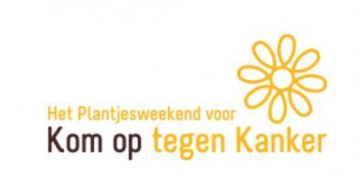 Kom op tegen Kanker - Plantjesweekend - logo