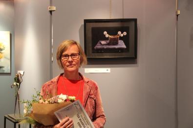 PBK 2020 Winnaar Diane Cruysberghs met haar werk 'Blazen'