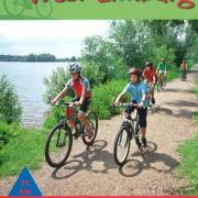 Mountainbikenetwerk West-Limburg - voorkant fietskaart