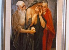 Schilderij Charles Wellens - Judag