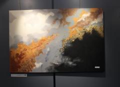 Winnaar publieksprijs beste schilderij - Marcelline Grauls 'In de wolken'
